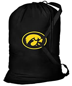 Broad Bay University of Iowa Laundry Bag Iowa Hawkeyes Clothes Bags