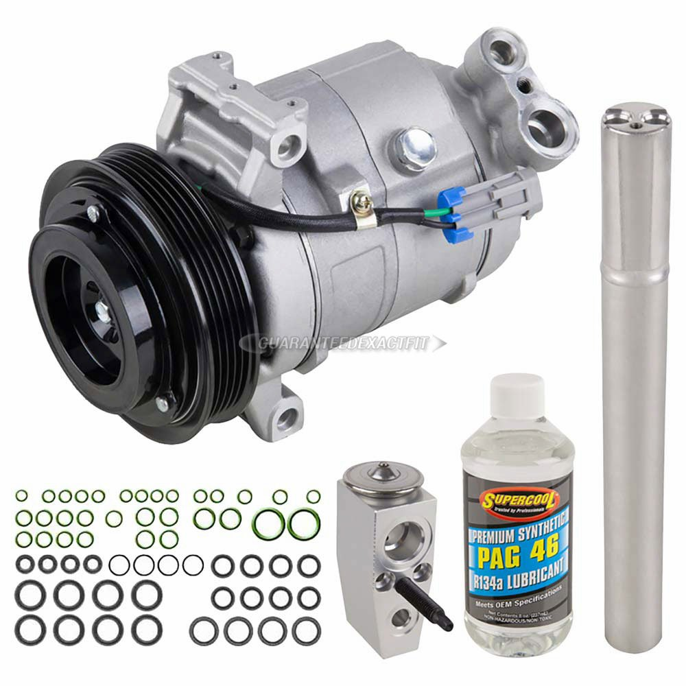 AC Compressor w/A/C Repair Kit For Chevy Equinox & GMC Terrain 2010 2011 - BuyAutoParts 60-81119RK New