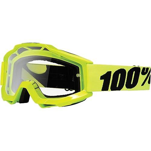 100% - Masque 100% Accuri Fluo Yellow Ecran Clair - Unicolor - Unique - Unicolor