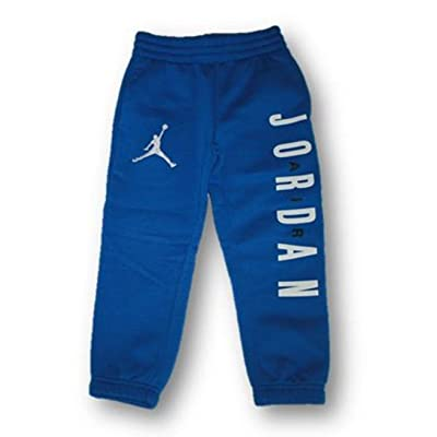 Air Jordan by Nike Child Boys Jumpman Sweat Pants (Size 4) Blue/White/Black