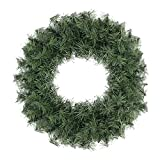 18inch Canadian Pine Artificial Christmas Wreath - Unlit (Small image)