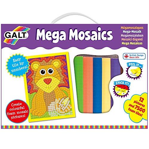 Galt Toys Mega Mosaics Kit (Mosaic Foam)