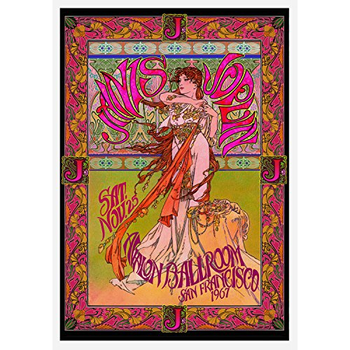 Janis Joplin - Concert Promo Poster