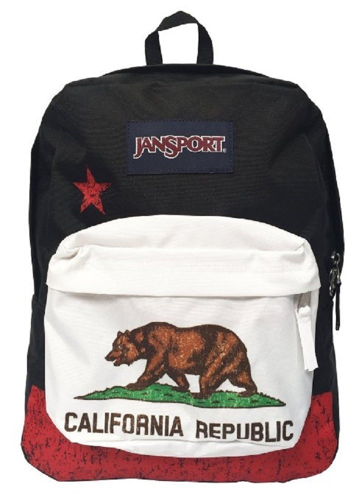 Amazon.com: Classic Jansport Superbreak Backpack (Nw California ...