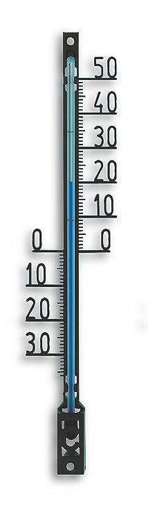 3.5/x 1.5/x 16/cm TFA Dostmann Termometro esterno Nero