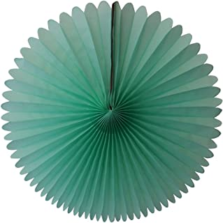 product image for 3-pack 13 Inch Tissue Paper Party Fans (Mint)