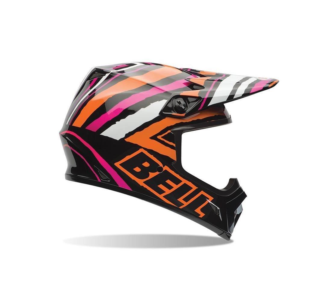 X-Small Bell MX-9 Tagger Scrub Pink Motocross Helmet