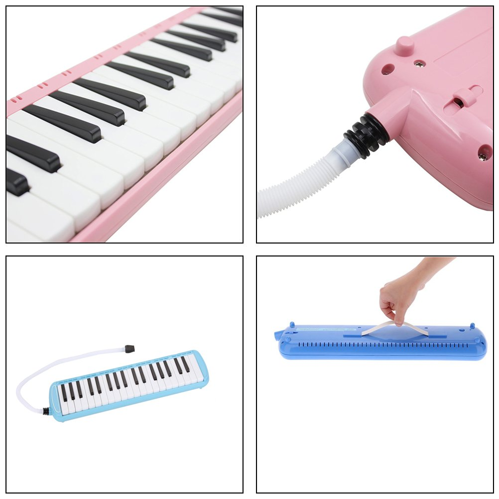 37 teclas melódica instrumento musical, apto para los amantes de la música con bolsa de regalo de principiantes por bagvhandbagro: Amazon.es: Instrumentos ...
