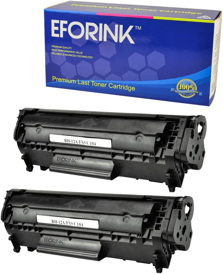 SuppliesOutlet Compatible Toner Cartridge Replacement for Canon 104 FX9 for Use with ImageClass MF4150 Black,1 Pack