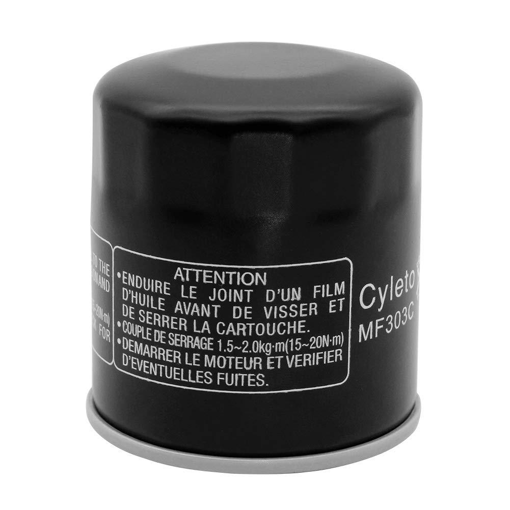 Filtro de aceite Cyleto para Yamaha XV1900 Midnight Star 2006-2013 XV 1900 RAIDER 1900 2008 2009 2010 XV1900 RAIDER S 1900 2008 2009 2010