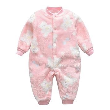 Toddler Baby Boys Bodysuit Short-Sleeve Onesie The Heart Beat Print Jumpsuit Winter Pajamas