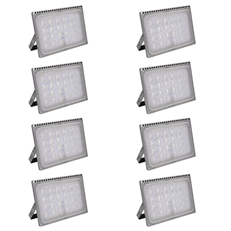 Foco proyector LED 150W para exteriores, luz de seguridad,IP65 ...