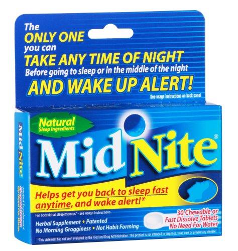 Midnite Supplément sommeil naturel, 30-Count Box (Pack de 2)