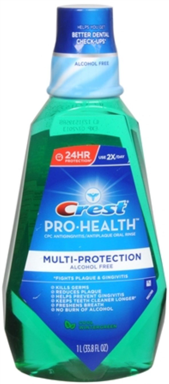 Crest Pro Health Rinse Wi Size 33.8z Crest Pro Health Wintergreen Oral Rinse by Crest