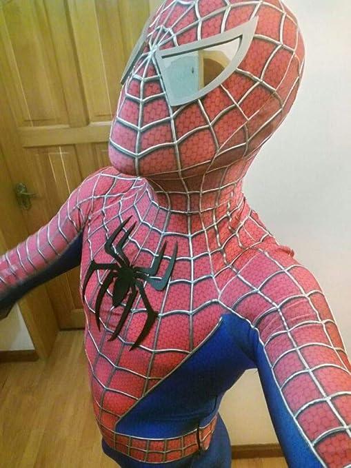WEGCJU Toby Spiderman Medias Cosplay Mono Frente Pecho Animado ...