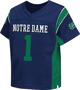 "b8fe7a47638 Notre Dame Fighting Irish NCAA Toddler ""Hail Mary"" Fashion  Football Jersey"