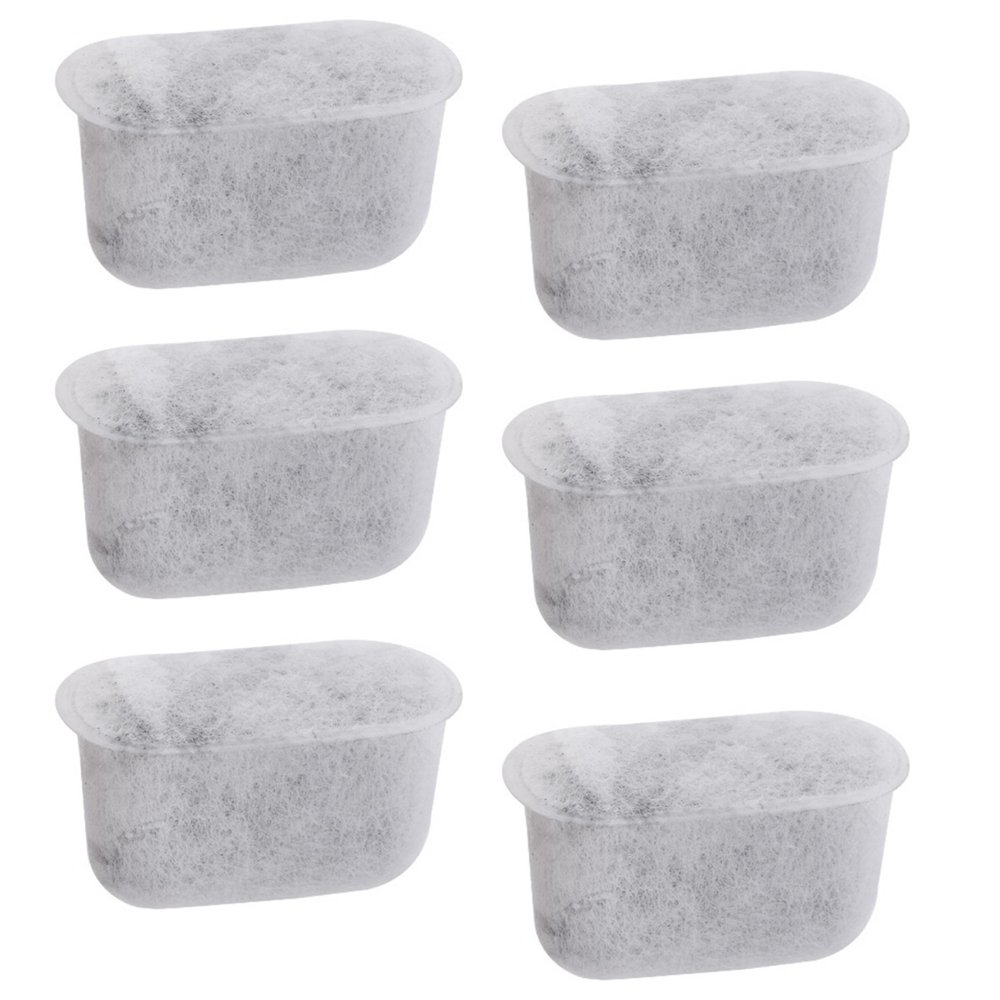 Everyday 6-Replacement Charcoal Water Filters for Cuisinart Coffee Machines