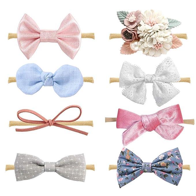 Amazon.com: Diademas y lazos para bebé niña, accesorios para ...