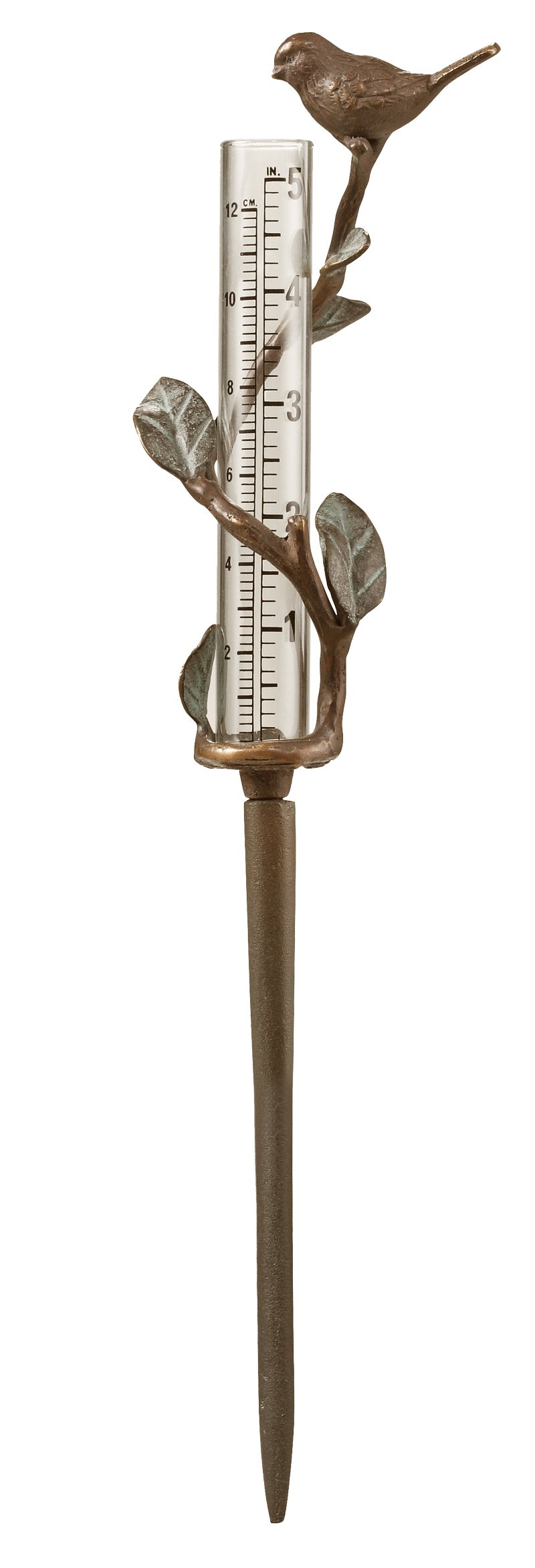 SPI Home 61022 Williamsburg Sparrow Rain Gaug