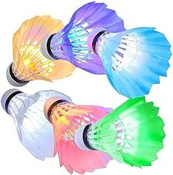 KEVENZ Goose Feather Badminton Shuttlecocks