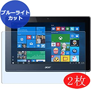 """【2 Pack】 Synvy Anti Blue Light Screen Protector for Acer Aspire Switch 11 SW5-173 / SW5-173p 11.6"""" Screen Film Protective Protectors [Not Tempered Glass]"""
