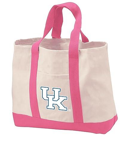 Amazon.com: Universidad de Kentucky bolsa Bolsas algodón ...