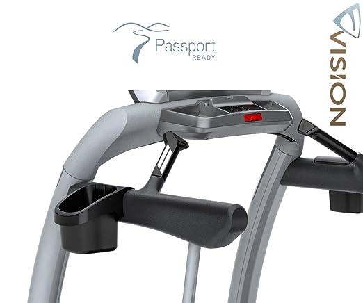 Vision Fitness TF 20 elegante cinta de correr Incluye Pulsómetro ...