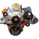 LS Truck Alternator & Power Steering Pump Drivers Side Bracket Accessory Kit LSX 5.3L 6.0L 4.8L, 551520-3