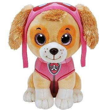 Paw Patrol - Patrulla Canina - Selección Figura de Peluche con Ojos Brillantes, Figura:
