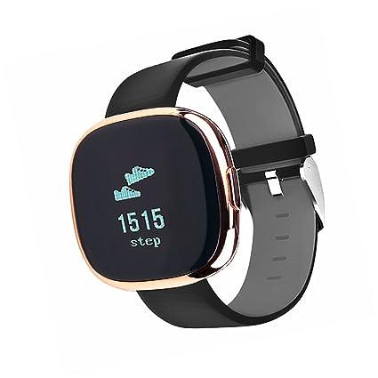 dragon-hub Heart Rate Monitor + Sangre Presión sphygmometer reloj inteligente para natación y bicicleta