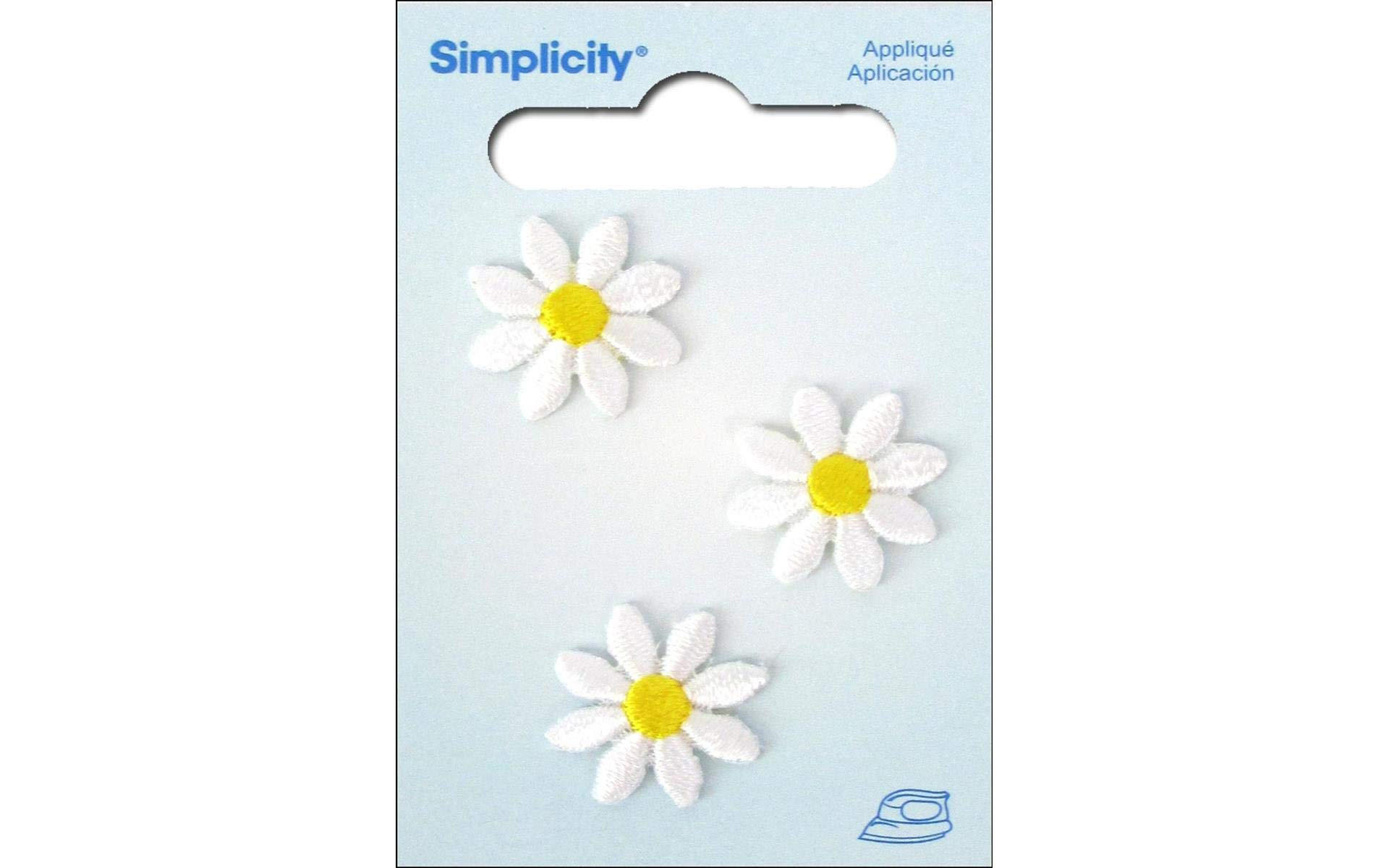 Wrights Yellow and White Daisy Flower Applique