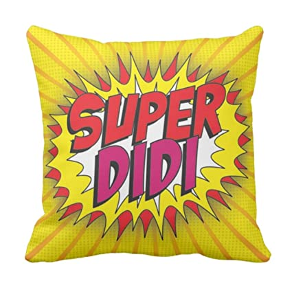 Buy YaYa CafeTM Birthday Gifts For Sister Super Didi Printed Cushion Cover 20 X Inches Rakhi Online At Low Prices In India