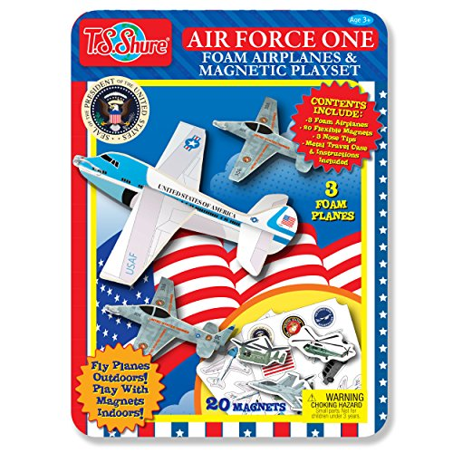 One Air Force Playset (T.S. Shure Air Force One Paper Plane Jets Activity Tin Playset)