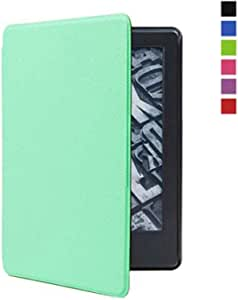 TERSELY Slimshell Case Cover for All-New Kindle Paperwhite 10th Generation-2018 (Model No. PQ94WIF), Smart Shell Cover with Auto Sleep/Wake for Amazon Kindle Paperwhite 10th - Green