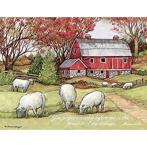 The Lord is My Shepherd Assorted Boxed Note Cards, Lang Folk Art by Lang ()