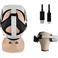 3 in 1 Padded Head Strap with Magnetic Power Bank Dock and Counter Balance for The Oculus Quest 2