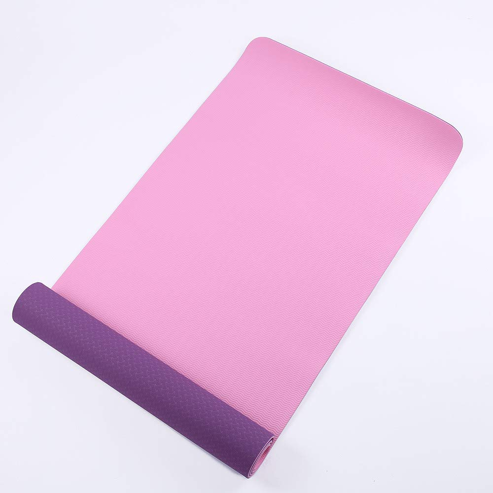 LLCP Eco-Friendly Yoga Mat, TPE Yoga Antideslizante Pad ...