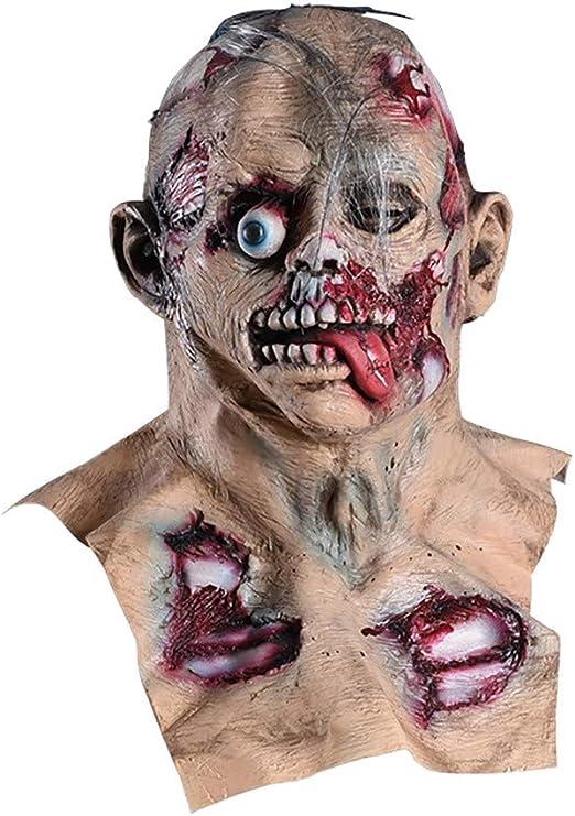 TongNS1 Resident Evil Zombie Mask,máscara De Monstruo,Latex Horror ...
