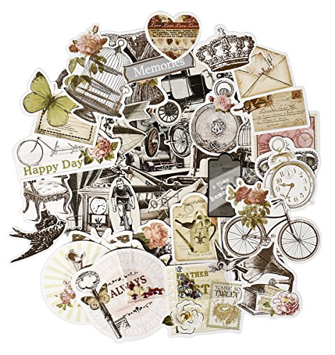 FaCraft Scrapbooking Supplies 50 Ephemera Vintage -