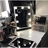 Hansong Hollywood Makeup Vanity Mirror with Lights,Plug in Light-up Professional Mirror,Removable 10x Magnification,3 Color L