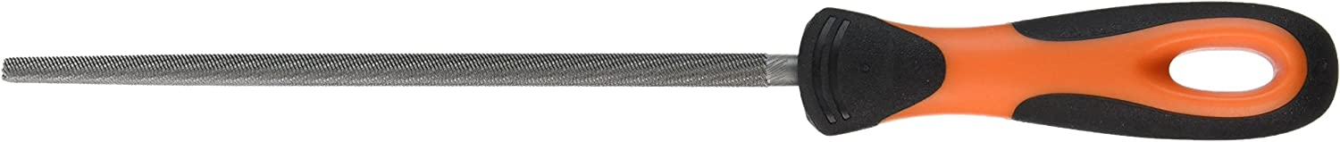 8-Inch Bahco 1-230-08-1-2 Round Cut 1-File with Handle