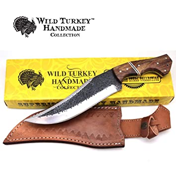 Amazon.com: Wild Turkey - Cuchillo de hoja fija de acero al ...