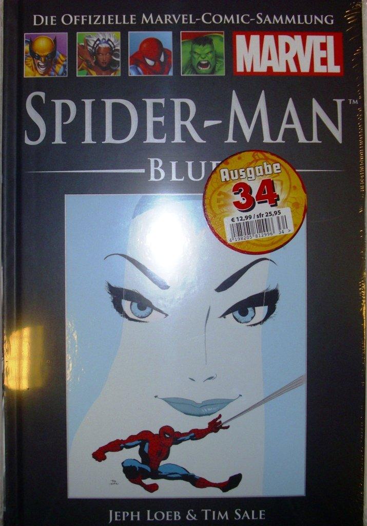 Die offizielle Marvel-Comic-Sammlung 25: Spider-Man - Blue Gebundenes Buch – 2014 Jeph Sale Tim Loeb Hachette Collections B00JVLU5SG