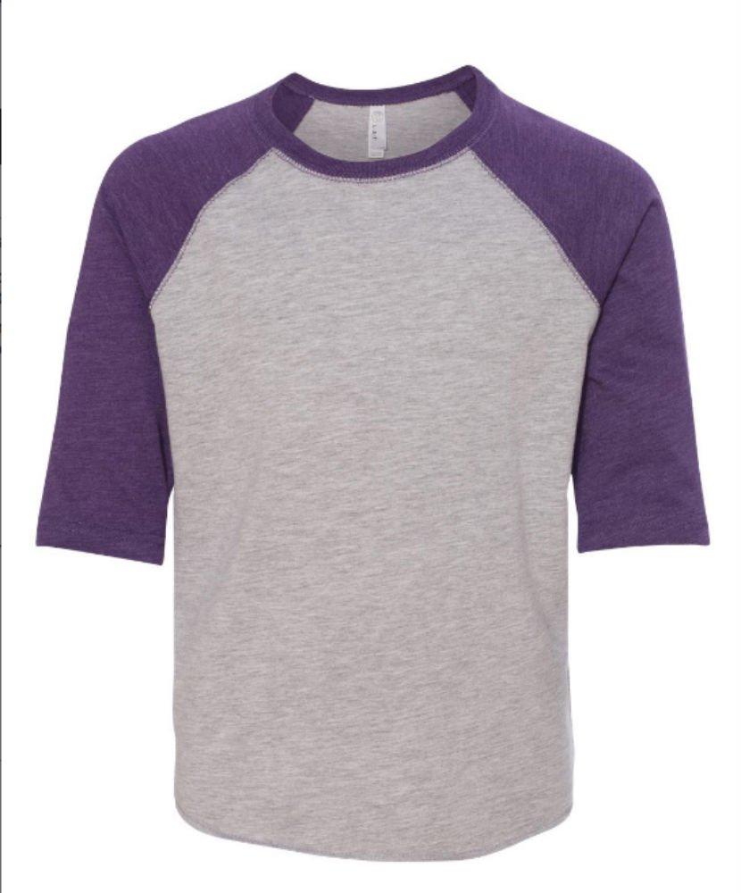 Rabbit Skins Toddler Baseball Fine Jersey Tee Size 3T Purple