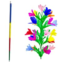 Enjoyer Appearing Cane Vanishing Cane to Flower Magic Tricks for Magicians Close Up Stage Magic Props Classic Magic Wand Toys