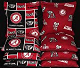 8 CORNHOLE BEANBAGS made w University of ALABAMA CRIMSON TIDE Fabric