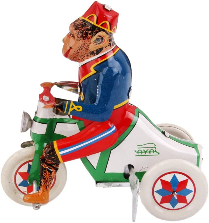 IPOTCH 4pcs Modelo Animal de Juguetes de Hojalata Vintage para Coleccionista o Entusiasta Adulto de Juguete Modelo Cl/ásico