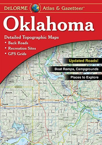 Oklahoma Atlas and Gazetteer by Delorme - Malls Oklahoma Shopping