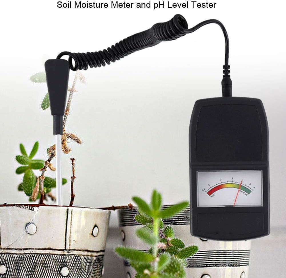 Soil Moisture Meter and pH Level Tester for Plants Crops Flowers Vegetable BEST