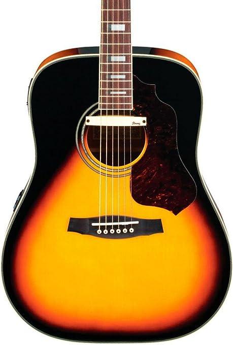 Ibanez Sage serie sge220vs guitarra electroacústica dreadnought ...